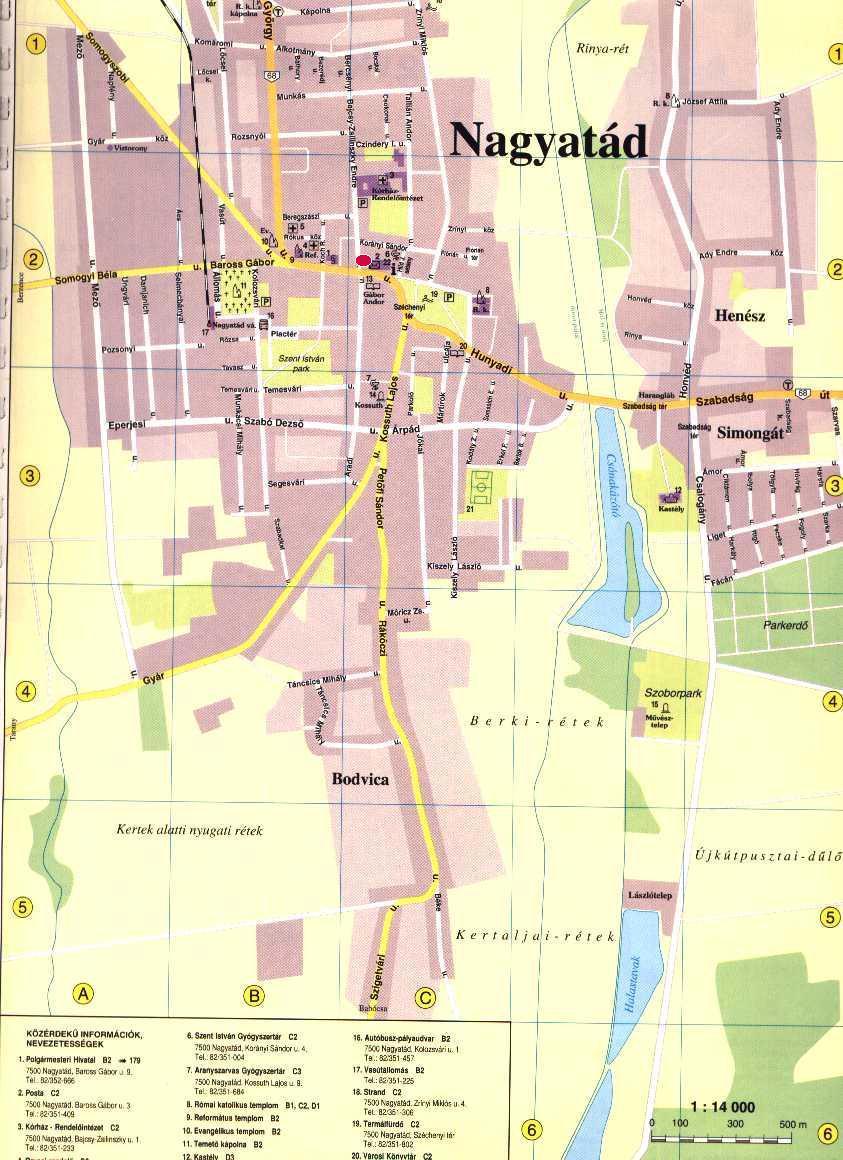 nagyatád térkép Nagyatádi Járási Hivatal Földhivatali Osztály
